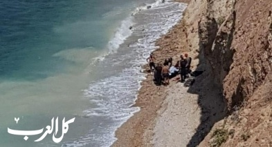 هرتسليا: تخليص سيدة اصيب في شاطئ البحر