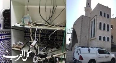 عائلة المشتبه بسرقة مسجد سخنين تعتذر