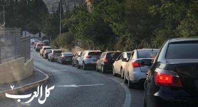 الناصرة: اقبال على محطة فحوصات الكورونا