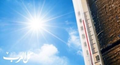 حالة الطقس: أجواء حارة بشكل عام