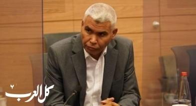 النائب الخرومي رئيساً للجنة معالجة قضايا العرب بالنقب