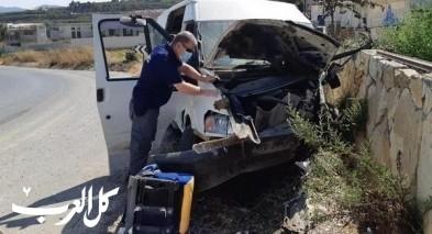 مجدل شمس: 4 إصابات متفاوتة بحادث