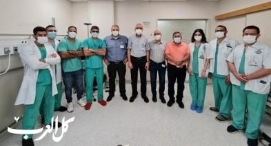 الانجليزي: د. وسام عبود يبدأ عمله كمدير لقسم الجراحة