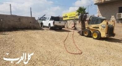 موقف سيارات جديد في حي الصفافرة