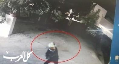 توثيق  القاء قنبلة على منزل نائب رئيس ديرحنا