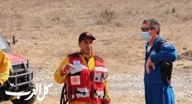 تدريبات خاصّة لطواقم الإطفاء والانقاذ