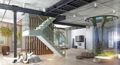 ديكورات السلالم الداخلية