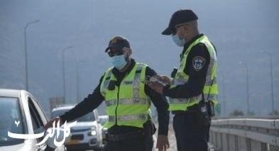 استعداد الشرطة لتعزيز انشطة المراقبة وتطبيق القانون
