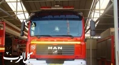 اللد: اندلاع حريق في منزل وتخليص 13 عالق