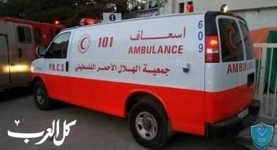مصرع طفلة 9 سنوات بحادث دهس جنوب نابلس