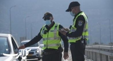 الشرطة تحرر 3922 مخالفة خلال 24 ساعة