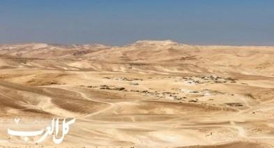 قلق بالنقب: السلطات تصوّر قرية البقيعة