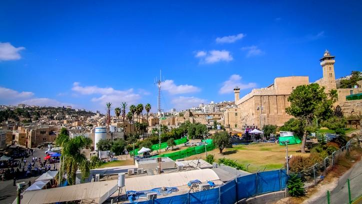 اغلاق الحرم الإبراهيمي الشريف في الخليل