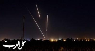 اطلاق قذيفة صاروخية من قطاع غزة