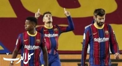 كوتينيو: عدم تأقلم اللاعبين سبب تعادل برشلونة