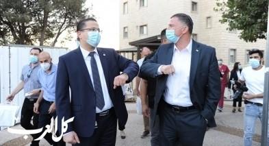وزير الصحة في زيارة إلى مستشفى الناصرة الانجليزي