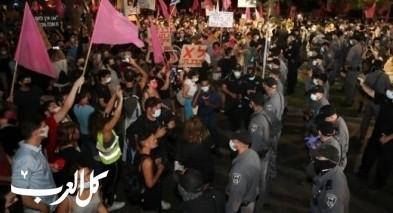 المئات يتظاهرون في تل ابيب ضد سياسات الحكومة ونتنياهو