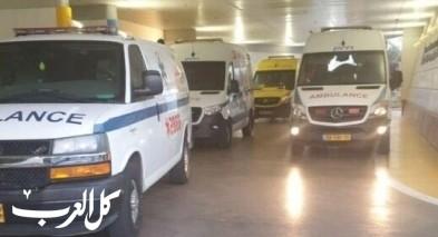 اصابة شاب (28 عامًا) اثر سقوطه عن ارفاع في ديرالاسد