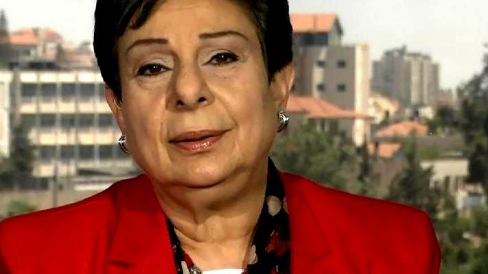 إصابة عضو منظمة التحرير حنان عشراوي بفيروس كورونا