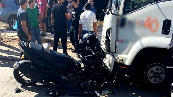 طمرة: إصابة خطيرة بحادث طرق
