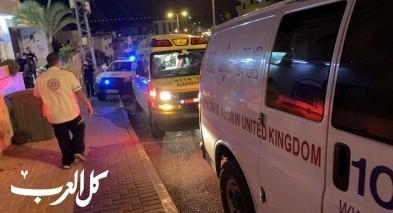 اصابة شاب جراء رصاصة طائشة في مدينة الطيبة