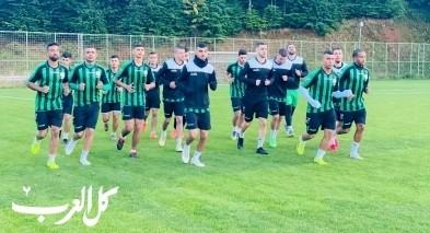 نادي كسيفة يجري معسكرا تدريبيا بتركيا