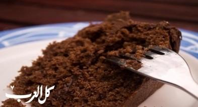 كعكة الشوكولاطة البسيطة.. صحة وهنا