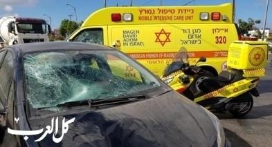 ريشون لتسيون: اصابة رجل بعد تعرضه للدهس