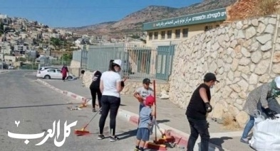 نحف: حملة تنظيف ويوم عمل تطوعي