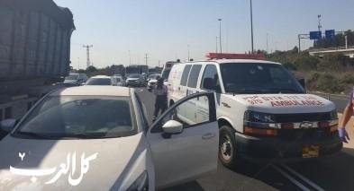 وادي عارة: إصابات بحادث طرق سلسلة