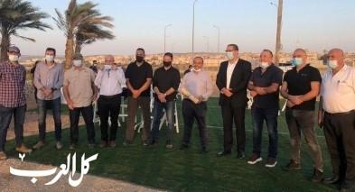 جسر الزرقاء تحتفل بافتتاح أول متنزه
