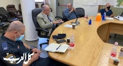 بلدية الطيبة: جلسة عمل مع نتيڤي يسرائيل
