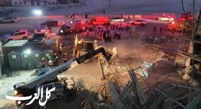 بيت شيمش: إصابة 5 عمّال جرّاء إنهيار سقالة