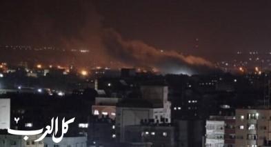 الجيش الاسرائيلي يقصف موقعا لحماس في غزة