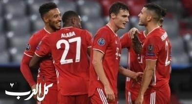 بايرن ميونيخ يسحق أتلتيكو مدريد برباعية بدوري الأبطال