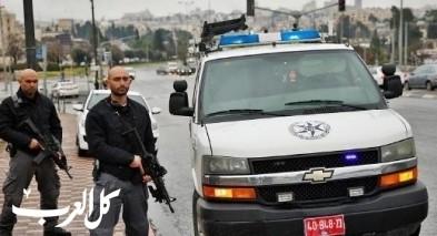 القاء زجاجات حارقة على مركز شرطة في أبو ديس