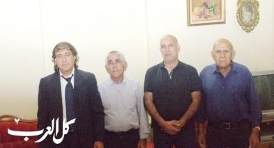 راضي مشيلح وسرور حلبي في زيارة حاتم جوعيه