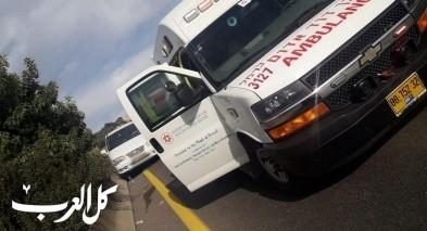 إصابات إثر حادث طرق قرب الضميدة