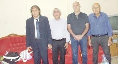في زيارتي للشاعران راضي مشيلح وسرور حلبي|بقلم: حاتم جوعية