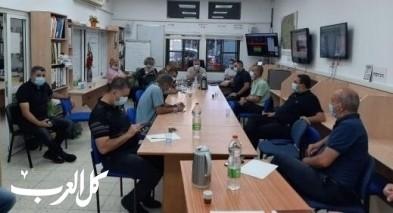 بلدية سخنين تجري اجتماعًا تشاوريًا لبحث عودة الطلاب