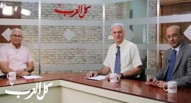 مازن غنايم في مواجهة مع العرب