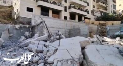 القدس: هدم منزل في مخيم شعفاط
