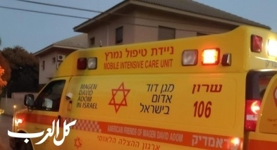 تل أبيب: إصابة عامل من خلاط باطون