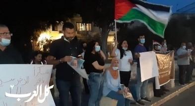 الناصرة: وقفة تضامنية مع الاسير الاخرس