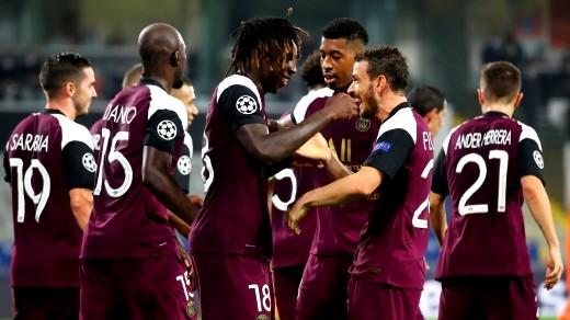 باريس سان جيرمان يفوز على باشاك شهير بثنائية