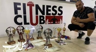 رشاد يونس من جديدة المكر يتألق في بطولة عالمية