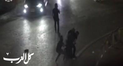 اعتقال شاب بشبهة القاء زجاجات حارقة على مدخل شعفاط