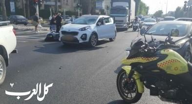 3 إصابات إثر حادث طرق على شارع عكا