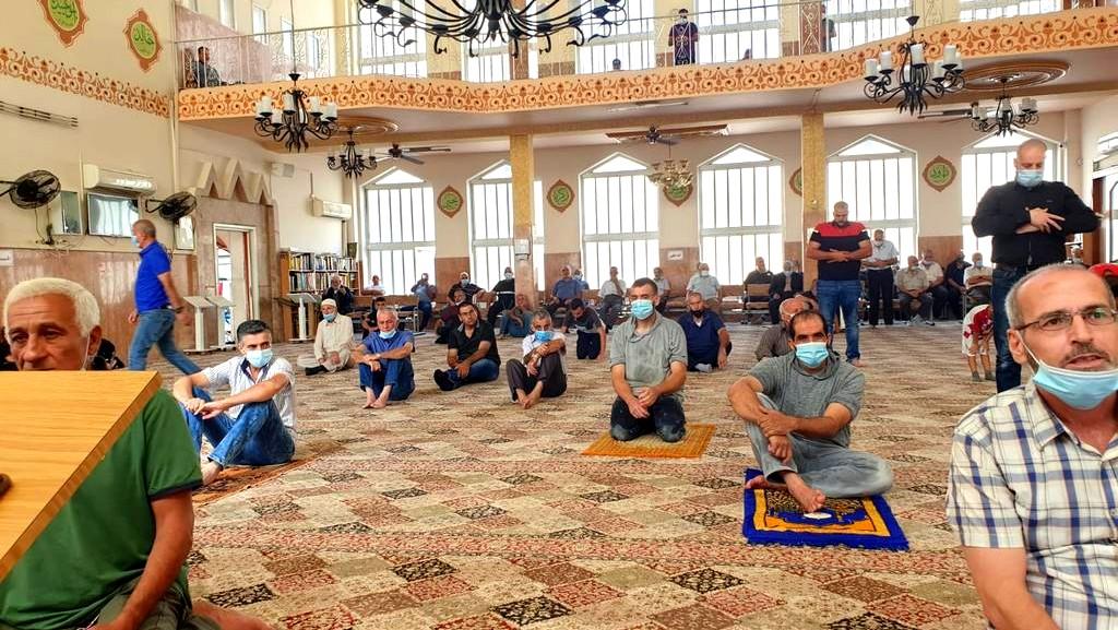 الناصرة: مصلو مسجد السلام يحيون ذكرى المولد النبوي