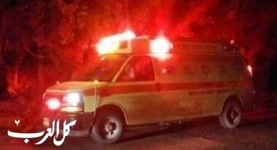 رهط: اصابة طفل رضيع بجراح متوسطة اثر تعرضه للدهس
